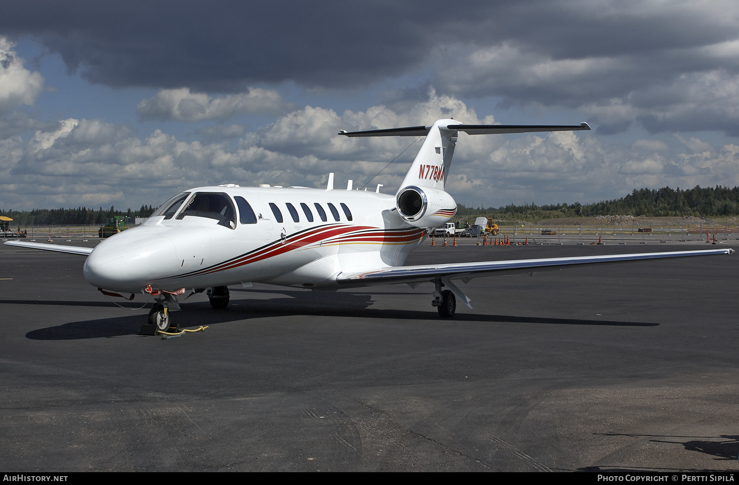 Aircraft Photo of N778MA | Cessna 525A CitationJet CJ2 | Boultbee Aviation | AirHistory.net #184494