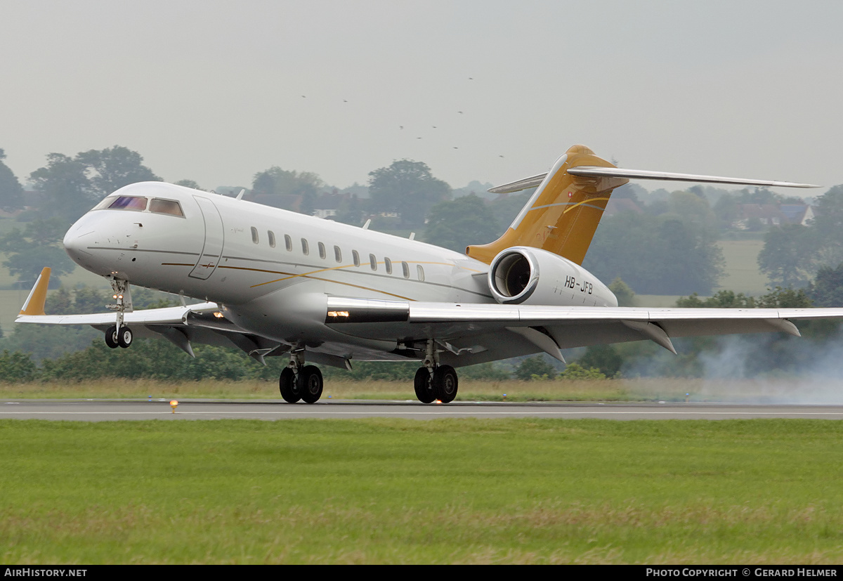 Aircraft Photo of HB-JFB | Bombardier Global 5000 (BD-700-1A11) | Nomad Aviation | AirHistory.net