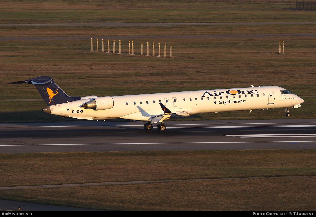 Aircraft Photo of EI-DRI | Bombardier CRJ-900ER (CL-600-2D24) | Air One CityLiner | AirHistory.net #186137