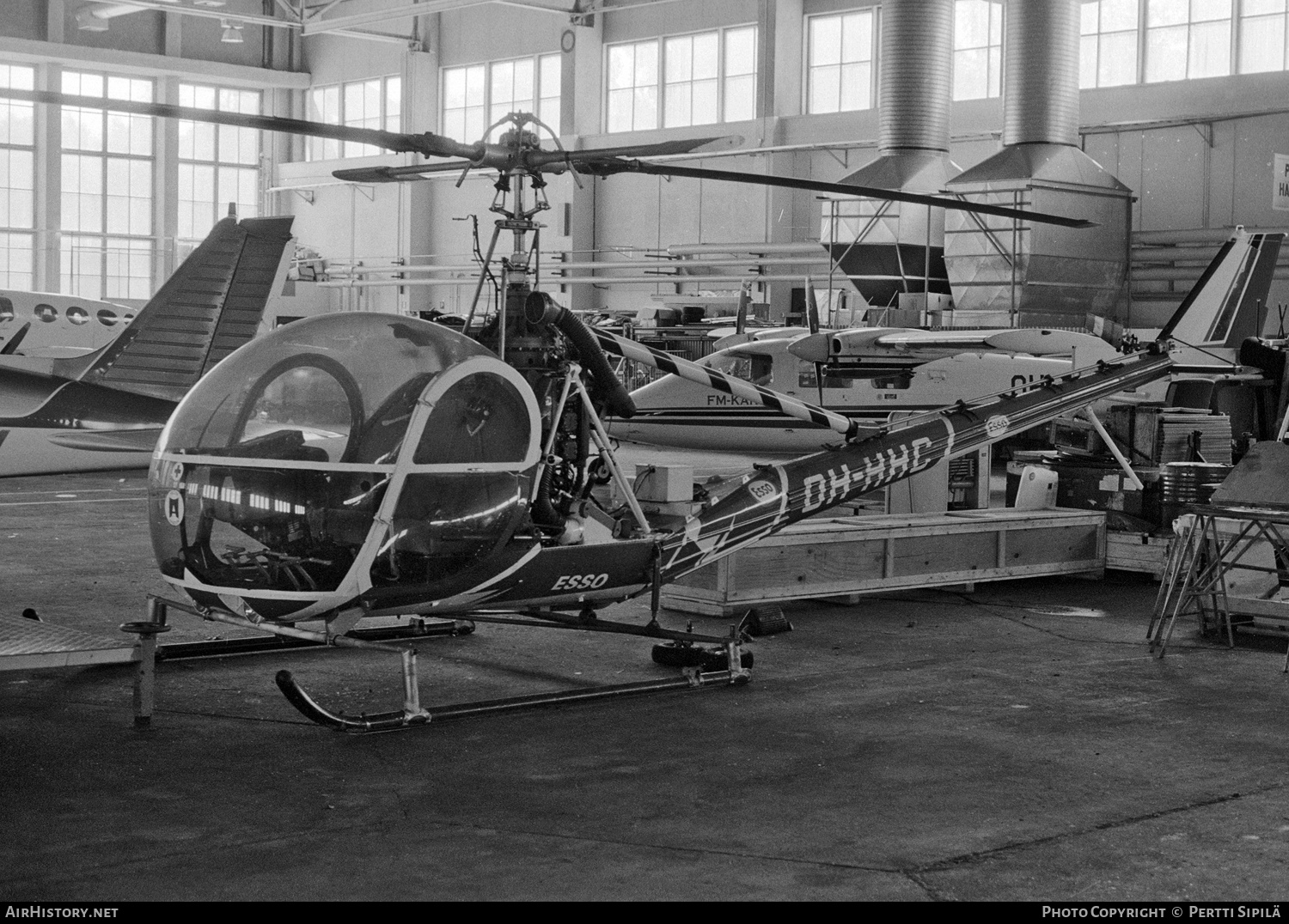 Aircraft Photo of OH-HHC | Hiller OH-23B Raven (UH-12B) | AirHistory.net #186451