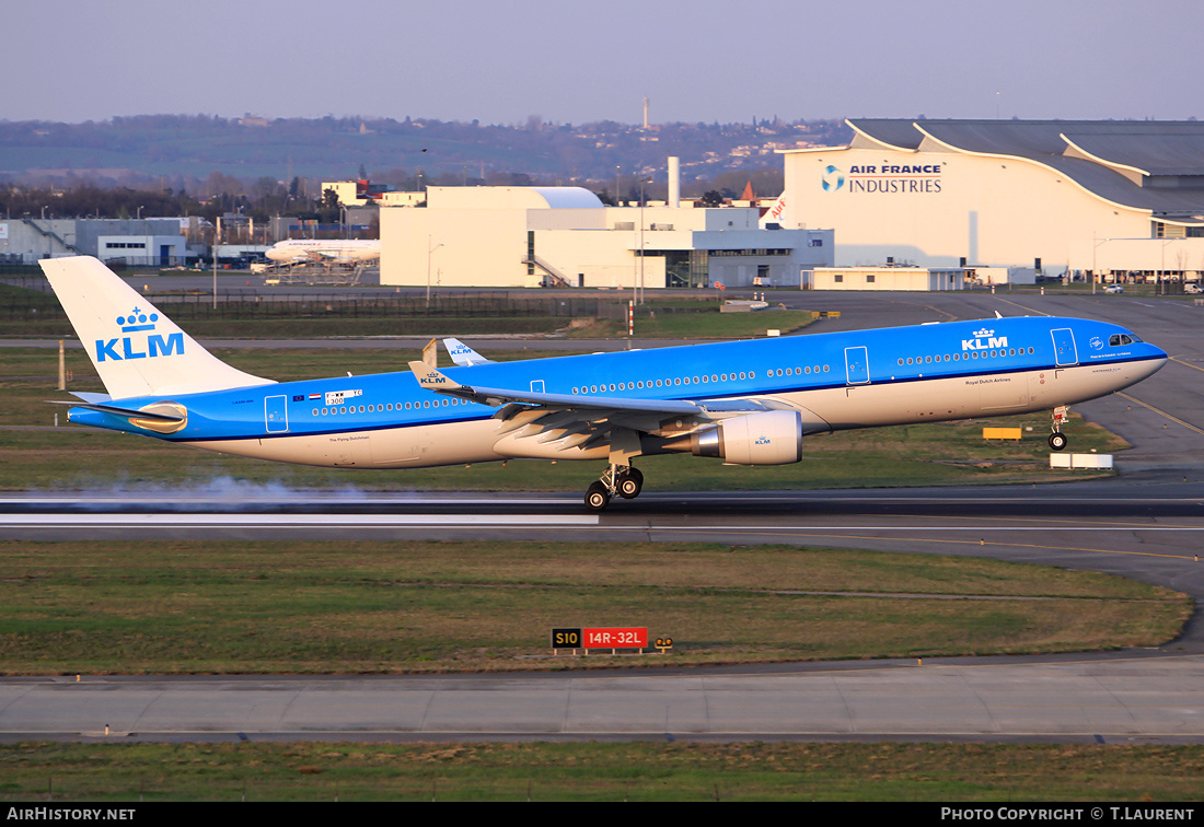 Aircraft Photo of F-WWYC | Airbus A330-303 | KLM - Royal Dutch Airlines | AirHistory.net #187275