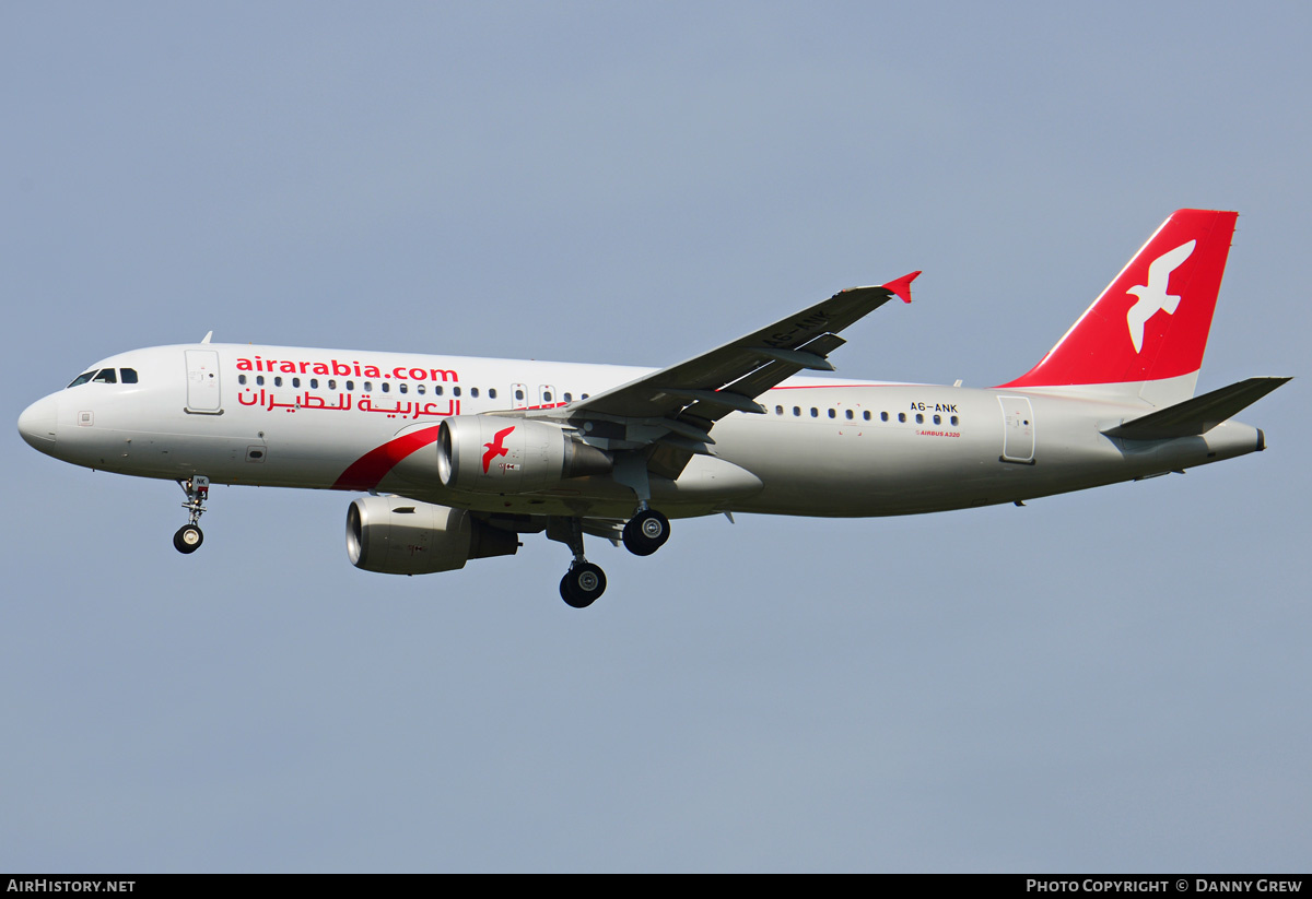 Aircraft Photo of A6-ANK | Airbus A320-214 | Air Arabia | AirHistory.net #187355