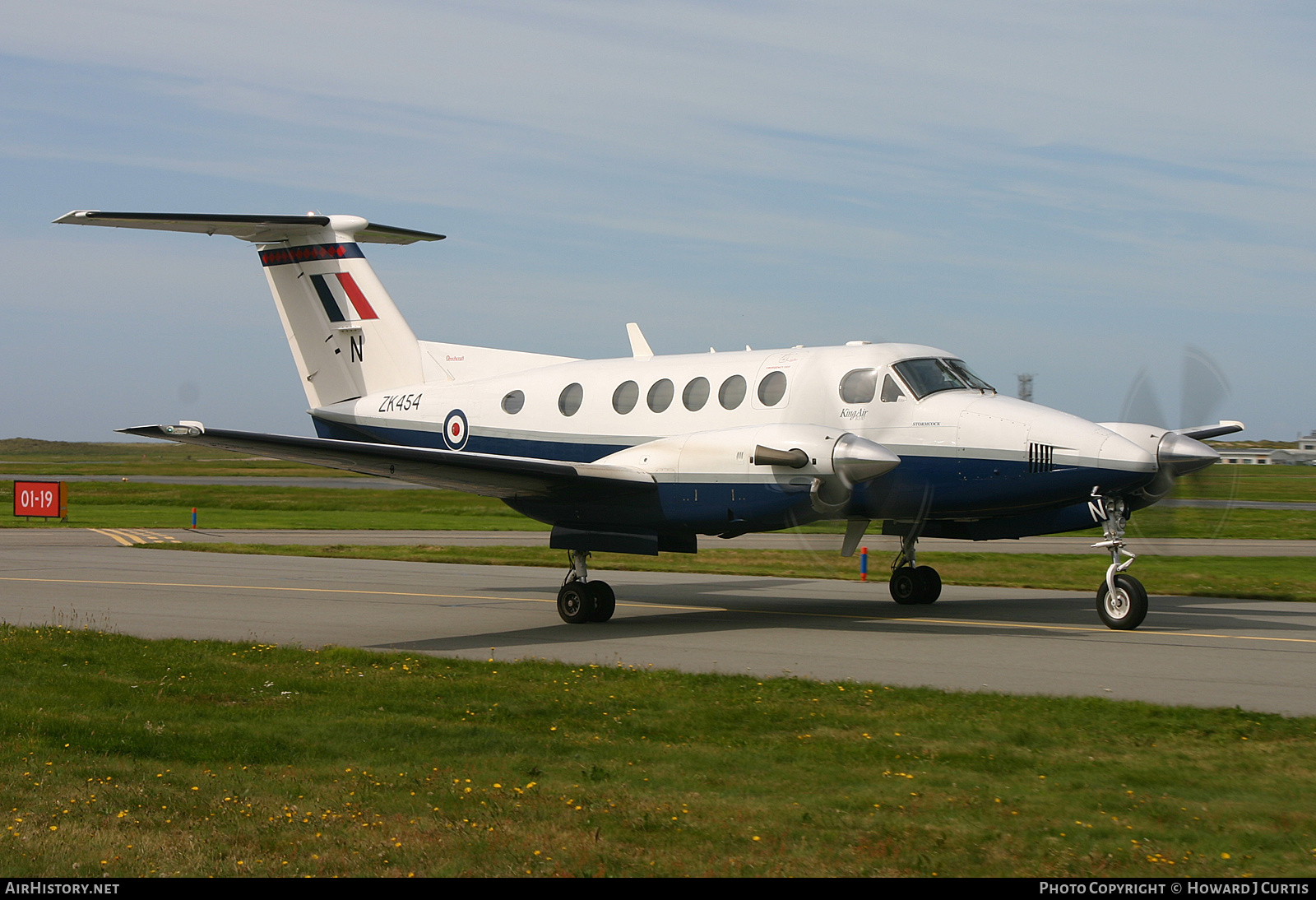 Aircraft Photo of ZK454 | Raytheon B200 King Air | UK - Air Force | AirHistory.net #187586