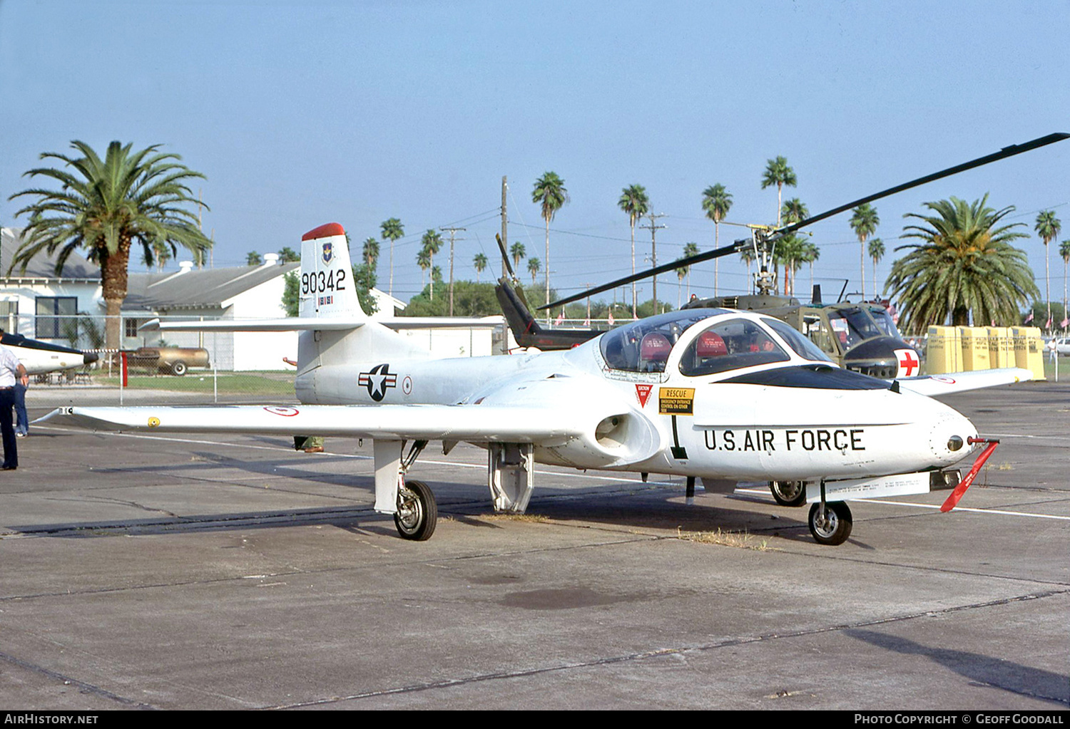 Aircraft Photo of 59-0342 / 90342 | Cessna T-37B Tweety Bird | USA - Air Force | AirHistory.net #189400