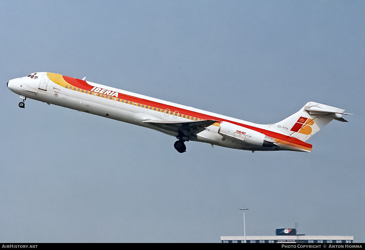 Aircraft Photo of EC-FFH | McDonnell Douglas MD-87 (DC-9-87) | Iberia | AirHistory.net