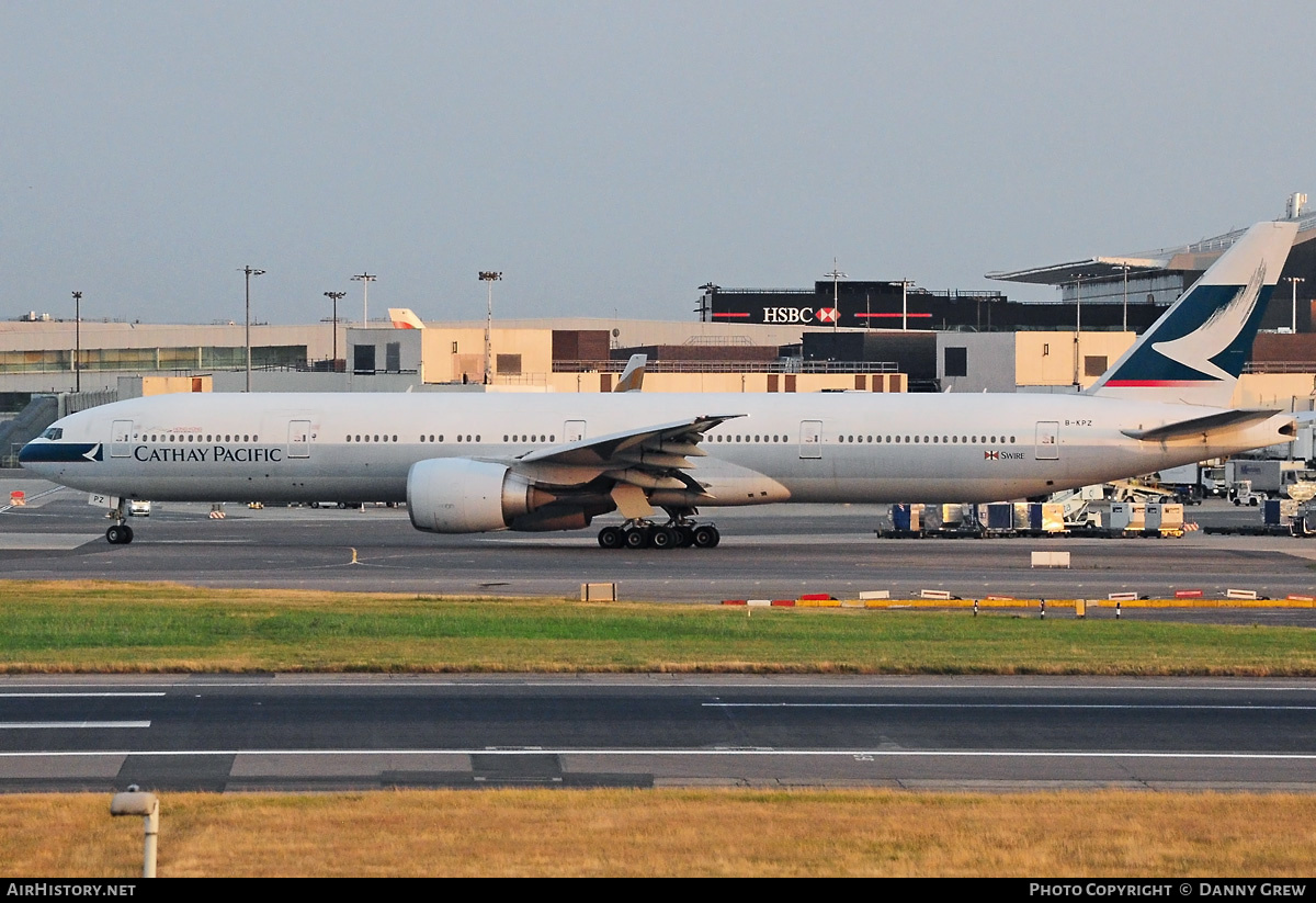 Aircraft Photo of B-KPZ | Boeing 777-367/ER | Cathay Pacific Airways | AirHistory.net