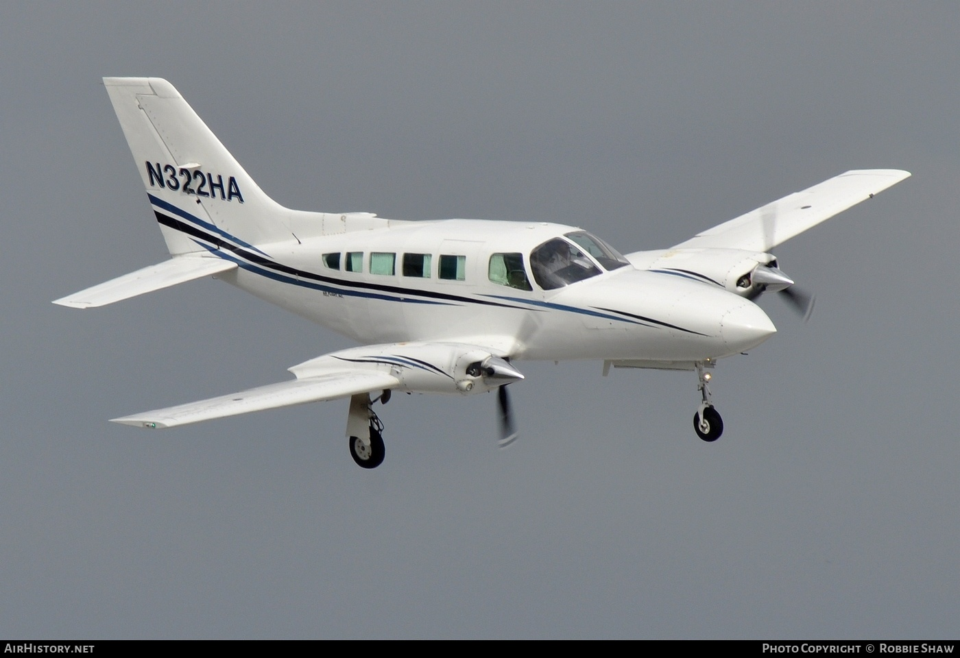 Aircraft Photo of N322HA | Cessna 402C | AirHistory.net #200854