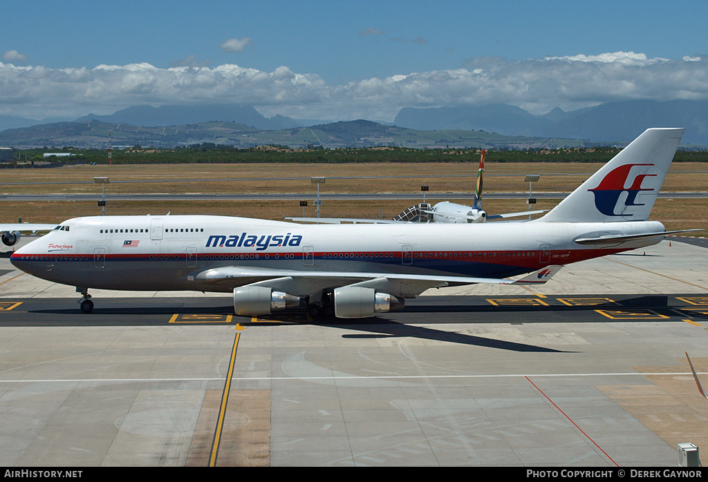 Aircraft Photo of 9M-MPP | Boeing 747-4H6 | Malaysia Airlines | AirHistory.net #200900