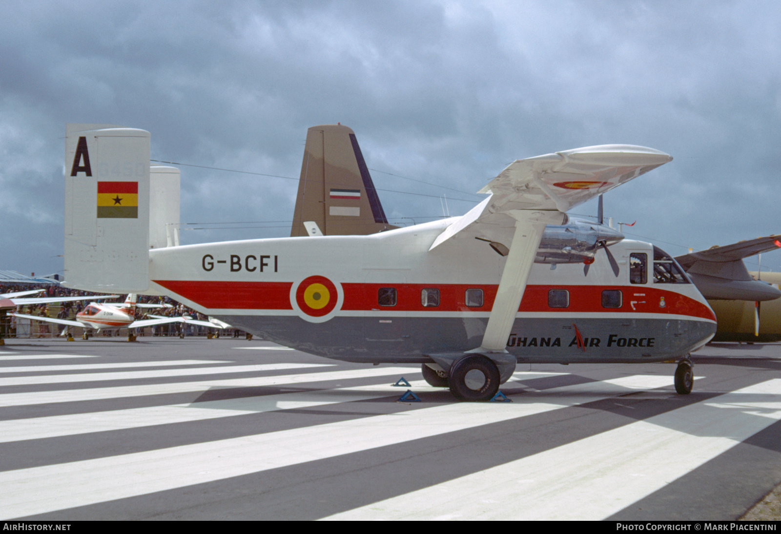 Aircraft Photo of G-BCFI | Short SC.7 Skyvan 3M-400 | Ghana - Air Force | AirHistory.net #200910