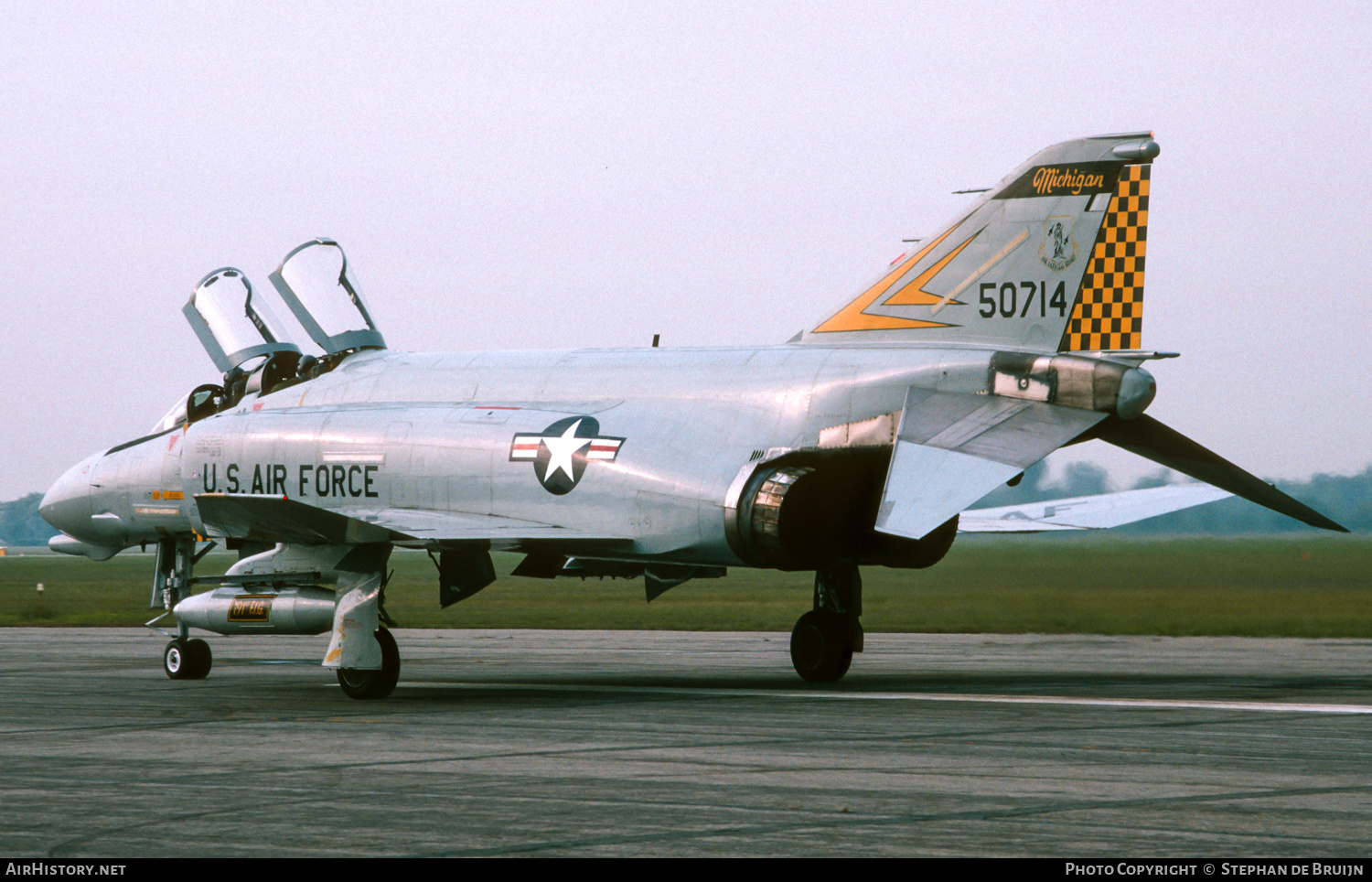Aircraft Photo of 65-0714 / 50714 | McDonnell Douglas F-4D Phantom II | USA - Air Force | AirHistory.net #200976