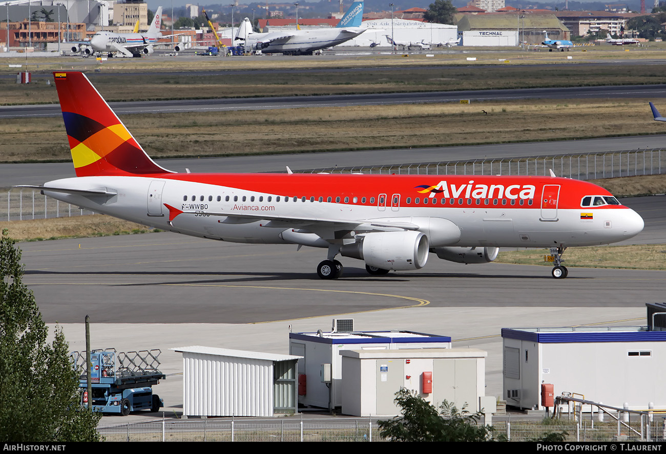 Aircraft Photo of F-WWBO | Airbus A320-214 | Avianca | AirHistory.net #201144