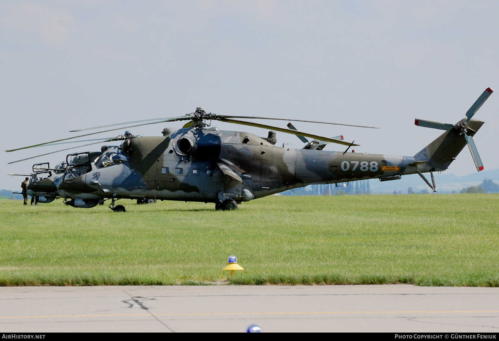 Aircraft Photo of 0788 | Mil Mi-24V | Czech Republic - Air Force | AirHistory.net