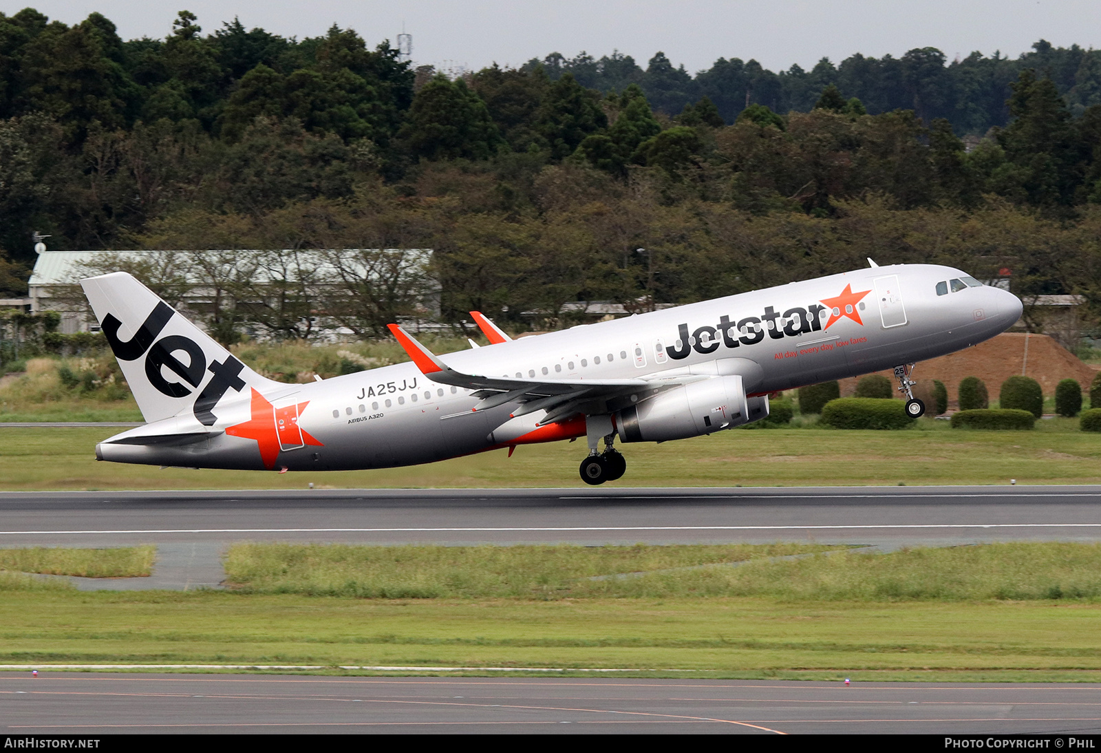 Aircraft Photo of JA25JJ | Airbus A320-232 | Jetstar Airways | AirHistory.net #201821
