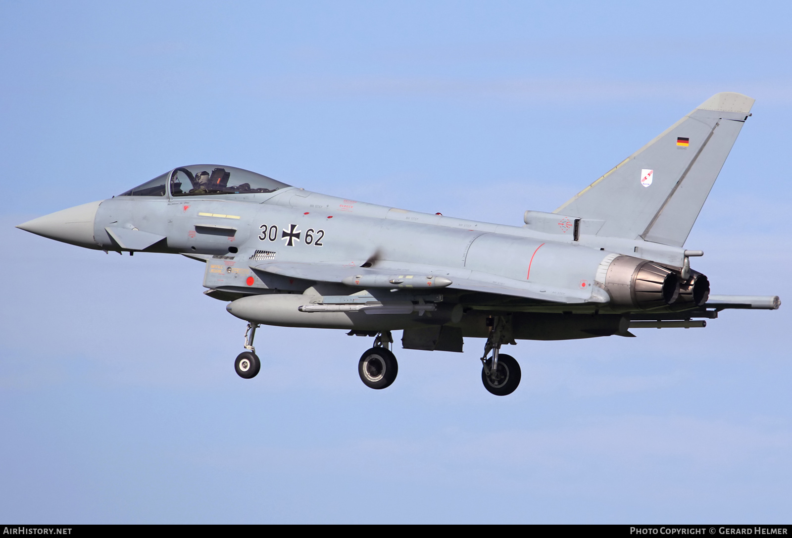 Aircraft Photo of 3062 | Eurofighter EF-2000 Typhoon S | Germany - Air Force | AirHistory.net #202313