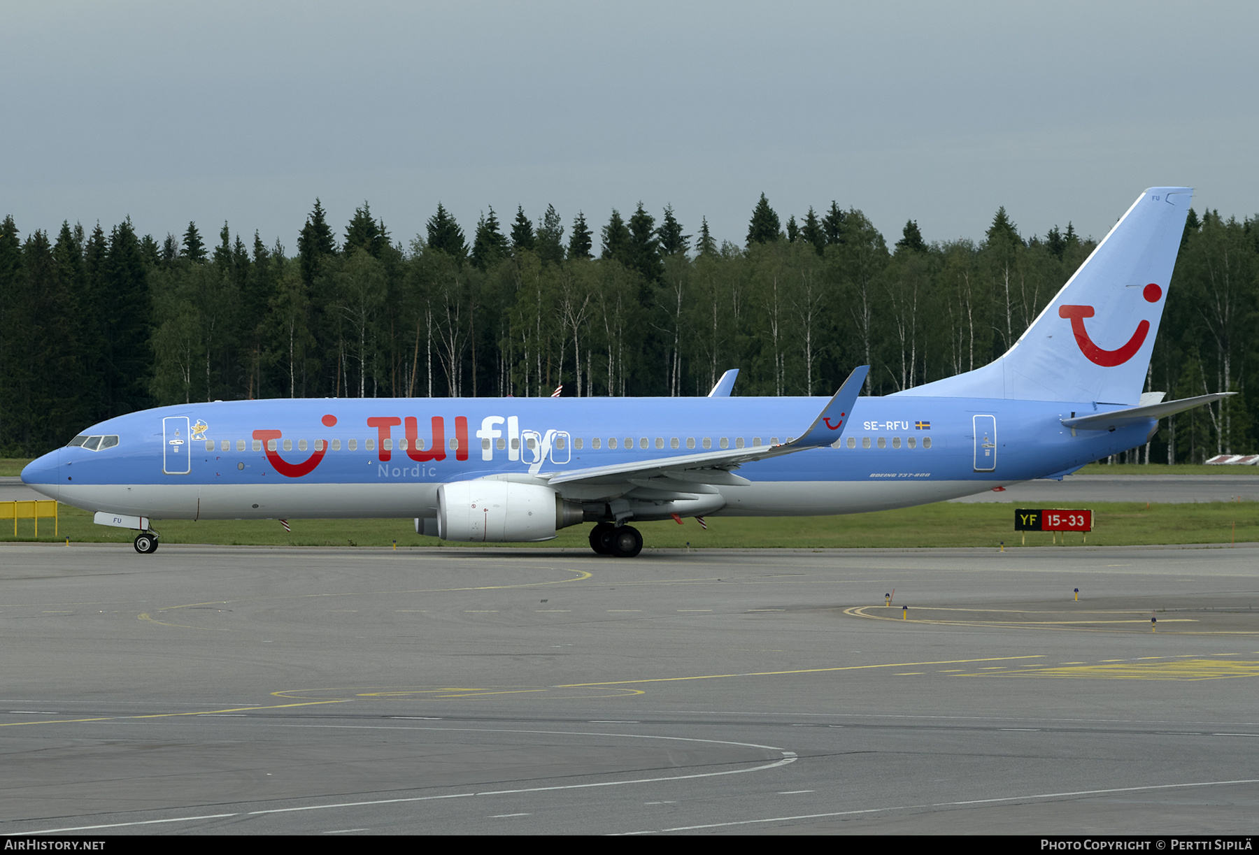 Aircraft Photo of SE-RFU | Boeing 737-8K5 | TUIfly Nordic | AirHistory.net #202455