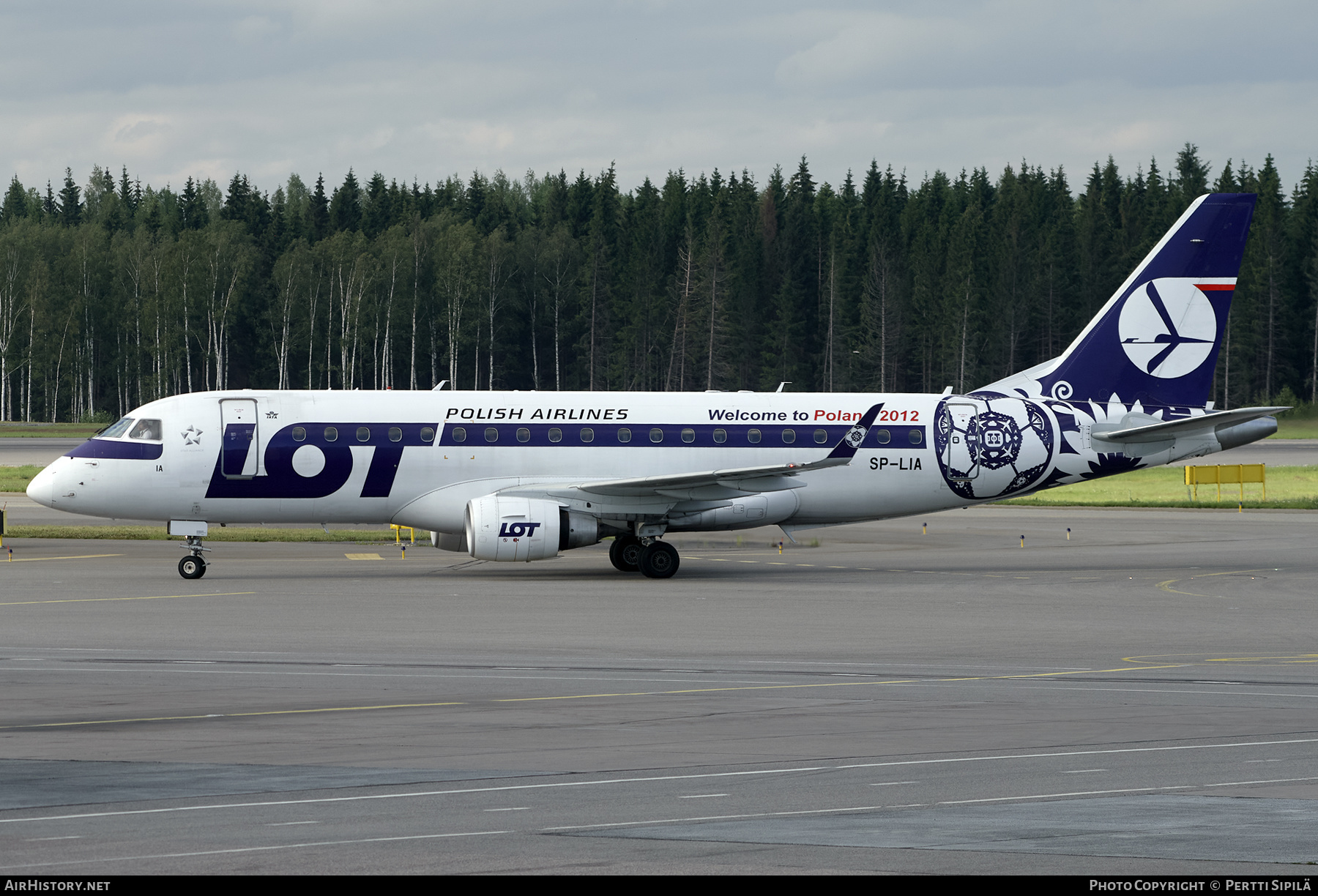 Aircraft Photo of SP-LIA | Embraer 175LR (ERJ-170-200LR) | LOT Polish Airlines - Polskie Linie Lotnicze | AirHistory.net #202463
