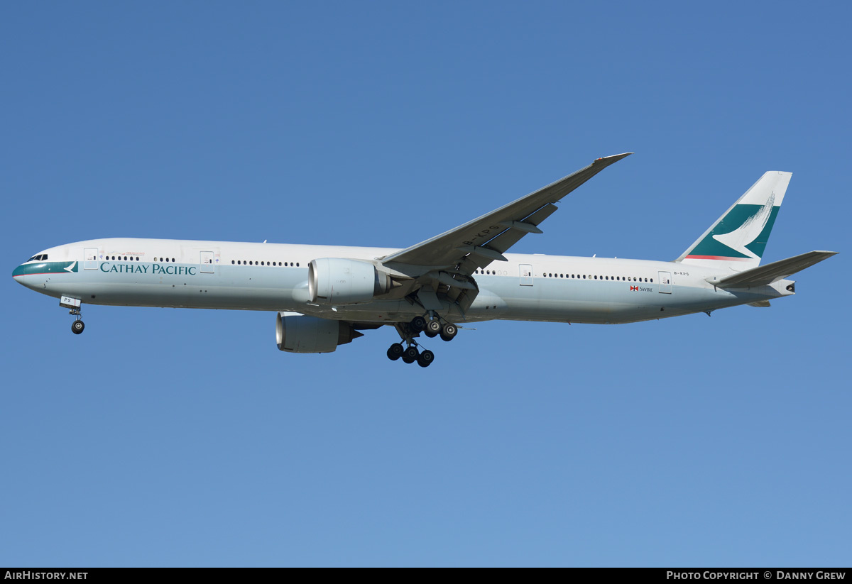 Aircraft Photo of B-KPS | Boeing 777-367/ER | Cathay Pacific Airways | AirHistory.net #202633