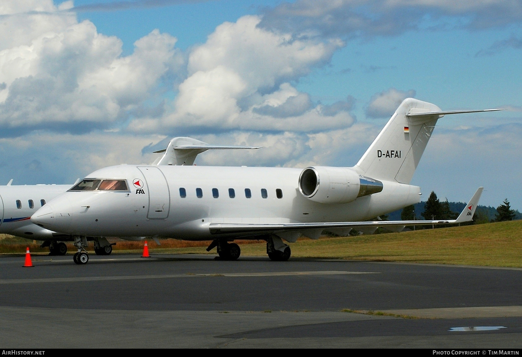 Aircraft Photo of D-AFAI | Bombardier Challenger 604 (CL-600-2B16) | FAI Rent-a-Jet | AirHistory.net #202685