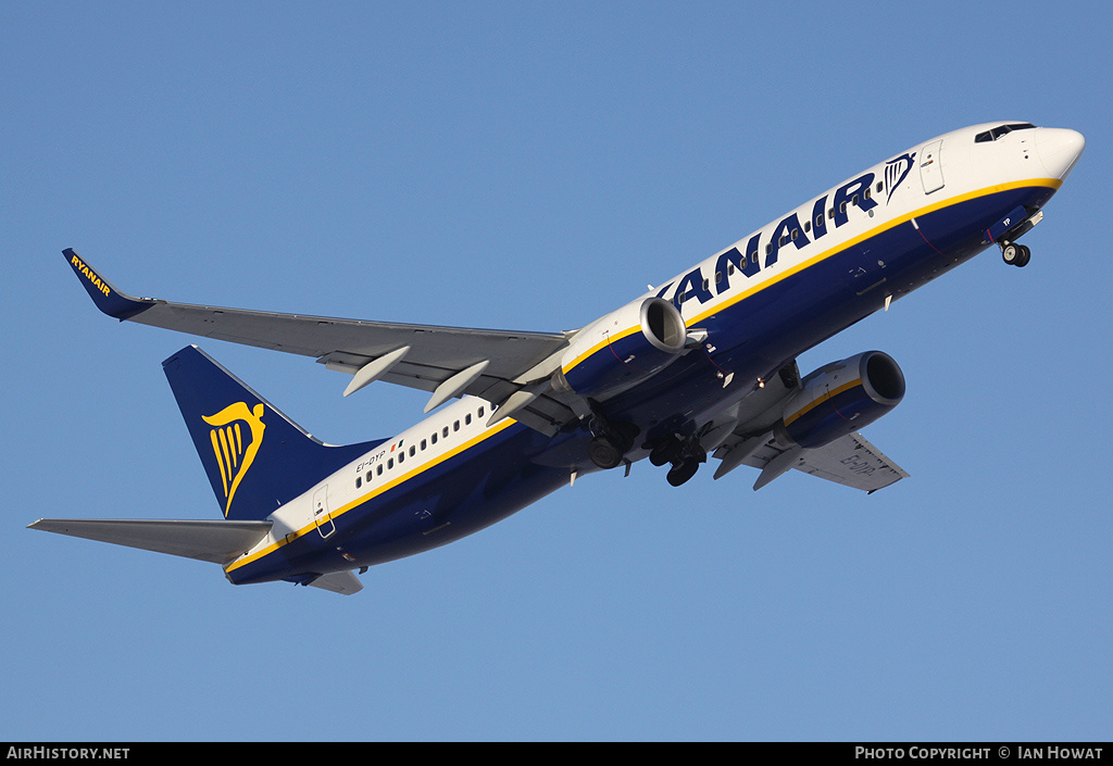 Aircraft Photo of EI-DYP | Boeing 737-8AS | Ryanair | AirHistory.net #203138