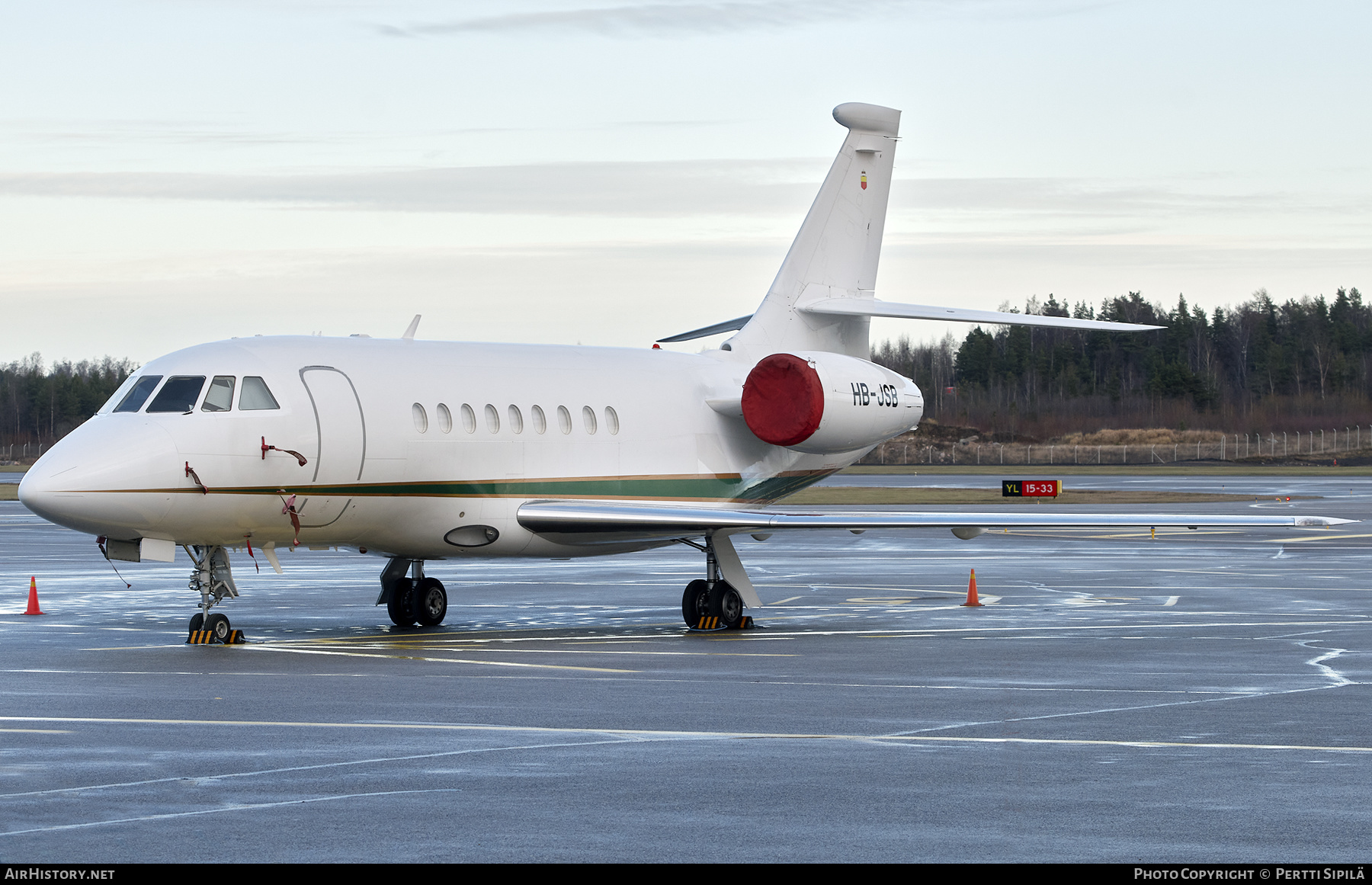 Aircraft Photo of HB-JSB | Dassault Falcon 2000 | AirHistory.net #203241