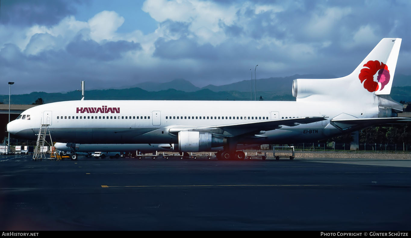 Aircraft Photo of EI-BTN | Lockheed L-1011-385-1 TriStar 1 | Hawaiian Airlines | AirHistory.net #203332