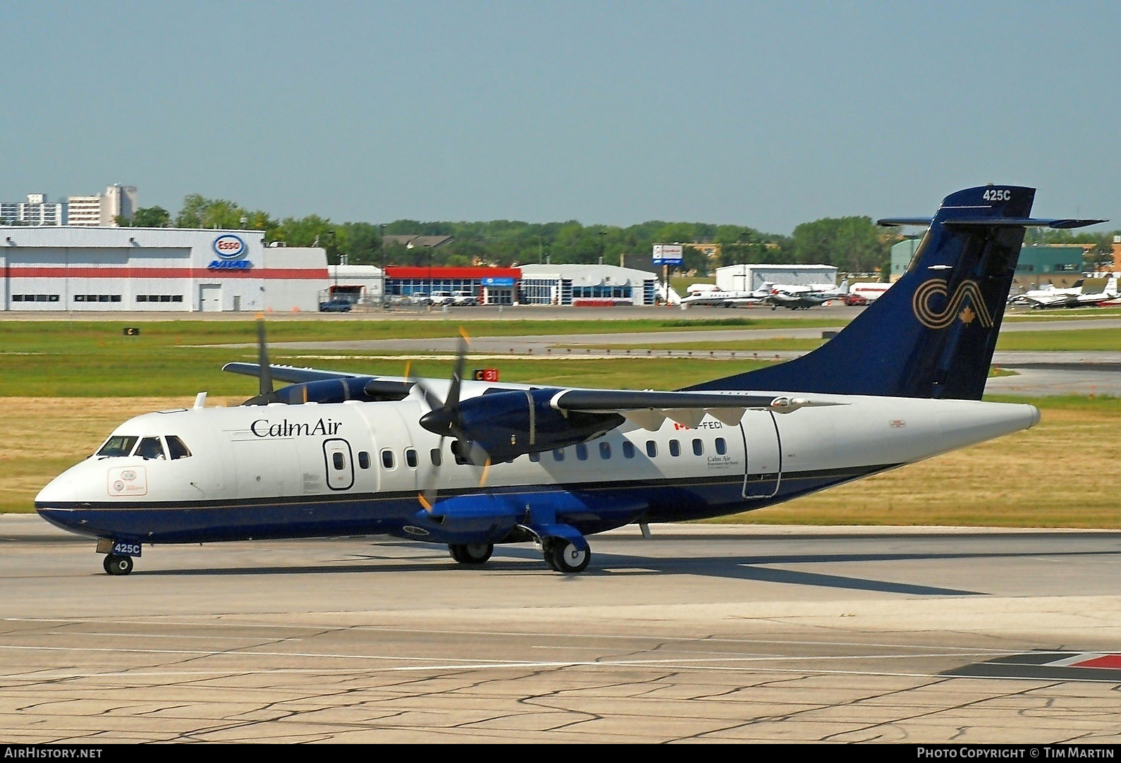 Aircraft Photo of C-FECI | ATR ATR-42-320 | Calm Air | AirHistory.net #203762
