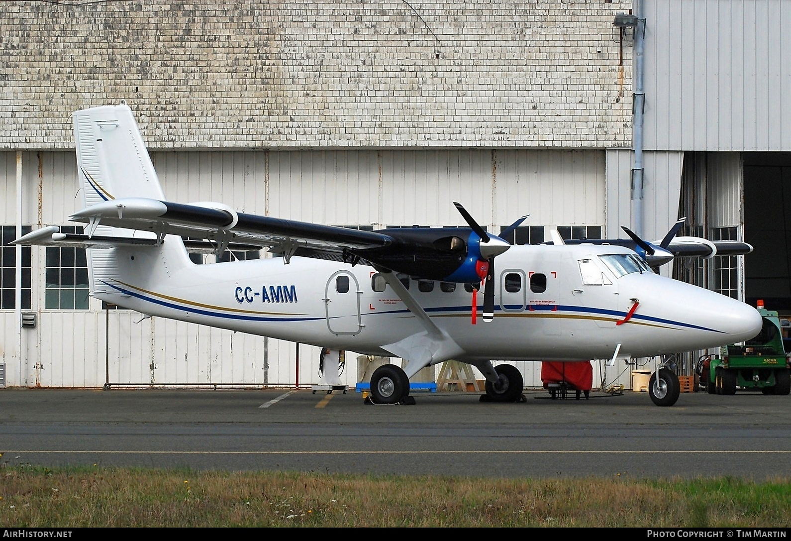 Aircraft Photo of CC-AMM | Viking DHC-6-400 Twin Otter | AirHistory.net #206217
