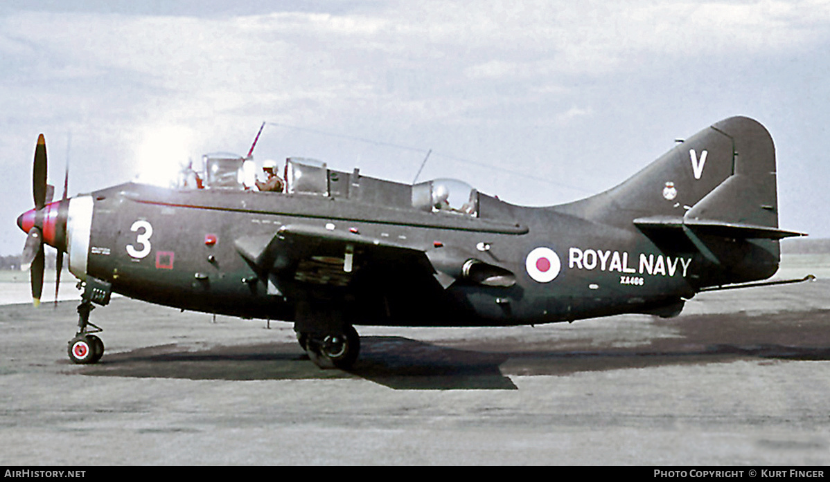 Aircraft Photo of XA466 | Fairey Gannet COD.4 | UK - Navy | AirHistory.net #208501