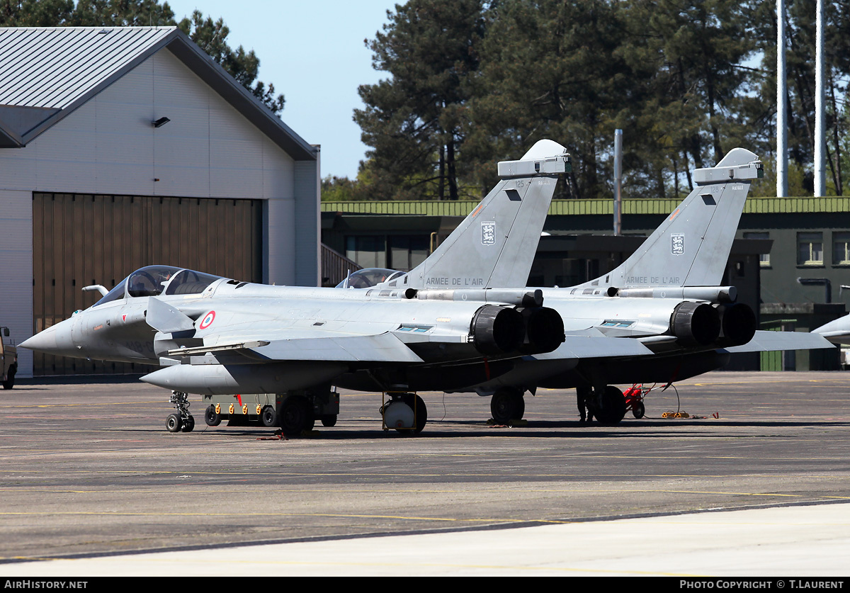 Aircraft Photo of 125 | Dassault Rafale C | France - Air Force | AirHistory.net #211779