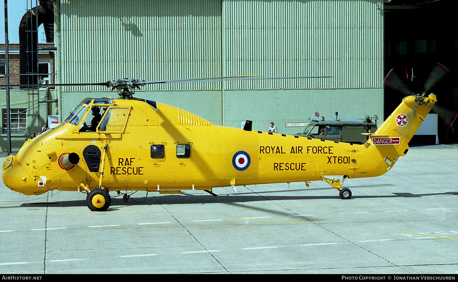 Aircraft Photo of XT601 | Westland WS-58 Wessex HC.2 | UK - Air Force | AirHistory.net #226600