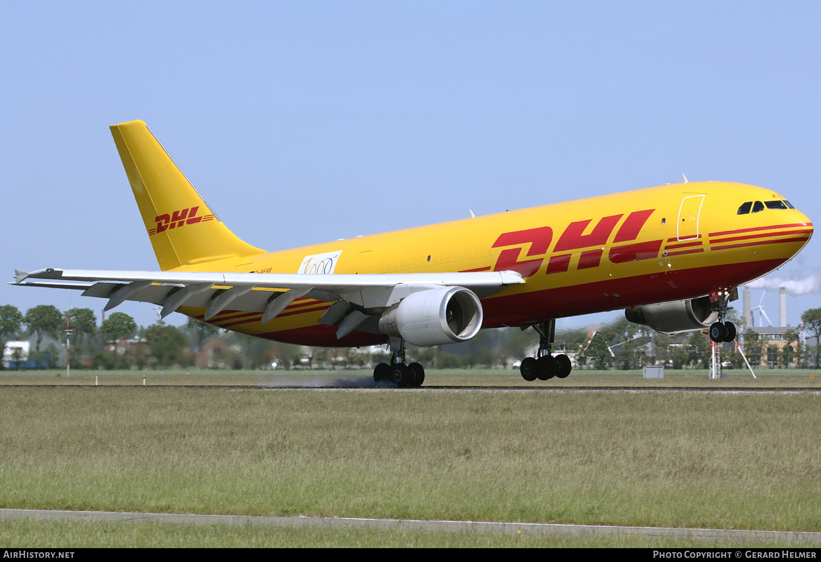 Aircraft Photo of D-AEAR | Airbus A300B4-622R(F) | DHL International | AirHistory.net #226797