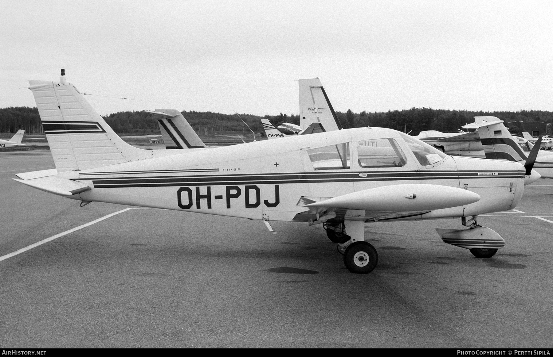 Aircraft Photo of OH-PDJ | Piper PA-28-160 Cherokee E | AirHistory.net #227048