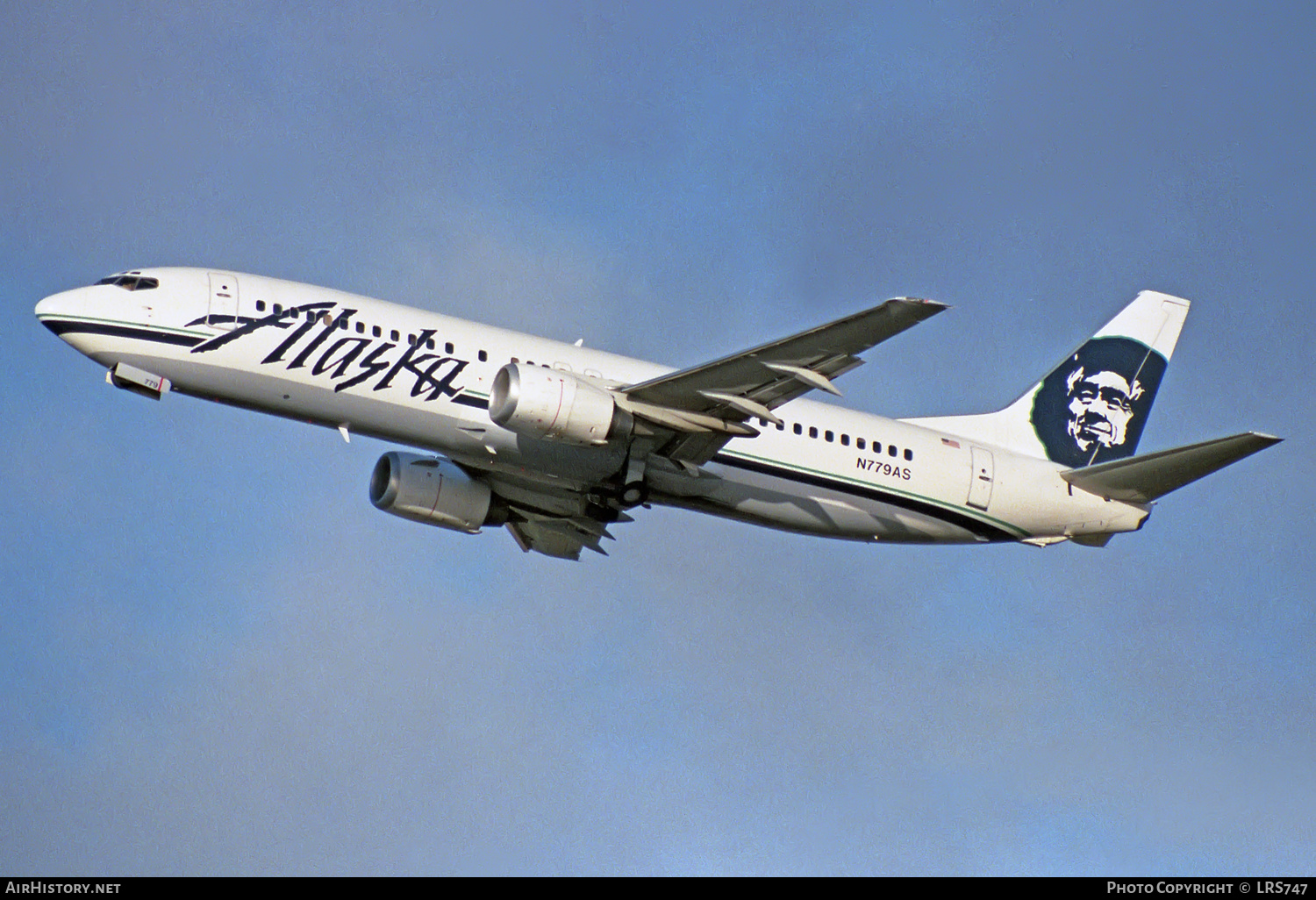 Aircraft Photo of N779AS | Boeing 737-4Q8 | Alaska Airlines | AirHistory.net #227154