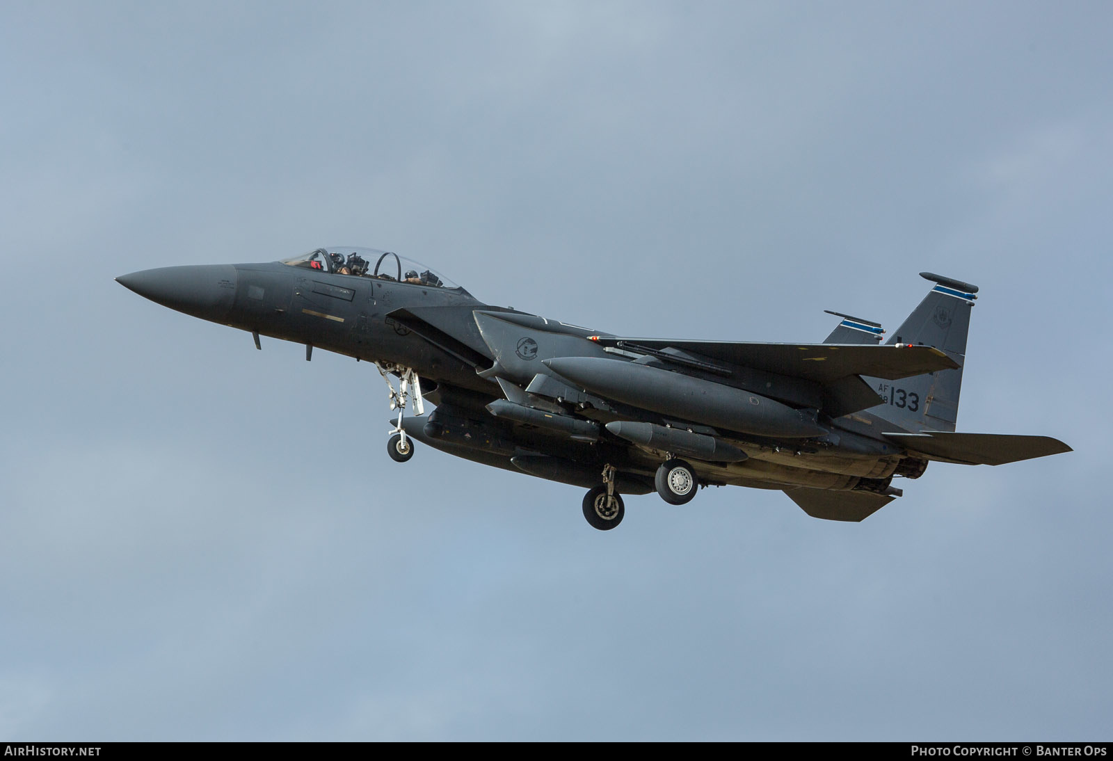 Aircraft Photo of 98-0133 / AF98-133 | McDonnell Douglas F-15E Strike Eagle | USA - Air Force | AirHistory.net #227384