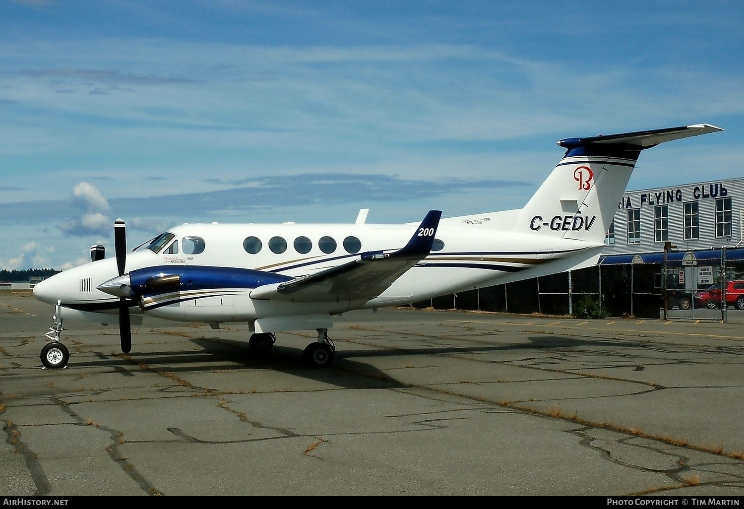 Aircraft Photo of C-GEDV | Beech 200 King Air | AirHistory.net #227863