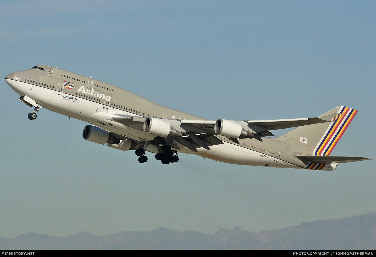 Aircraft Photo of HL7421 | Boeing 747-48EM | Asiana Airlines | AirHistory.net #229113