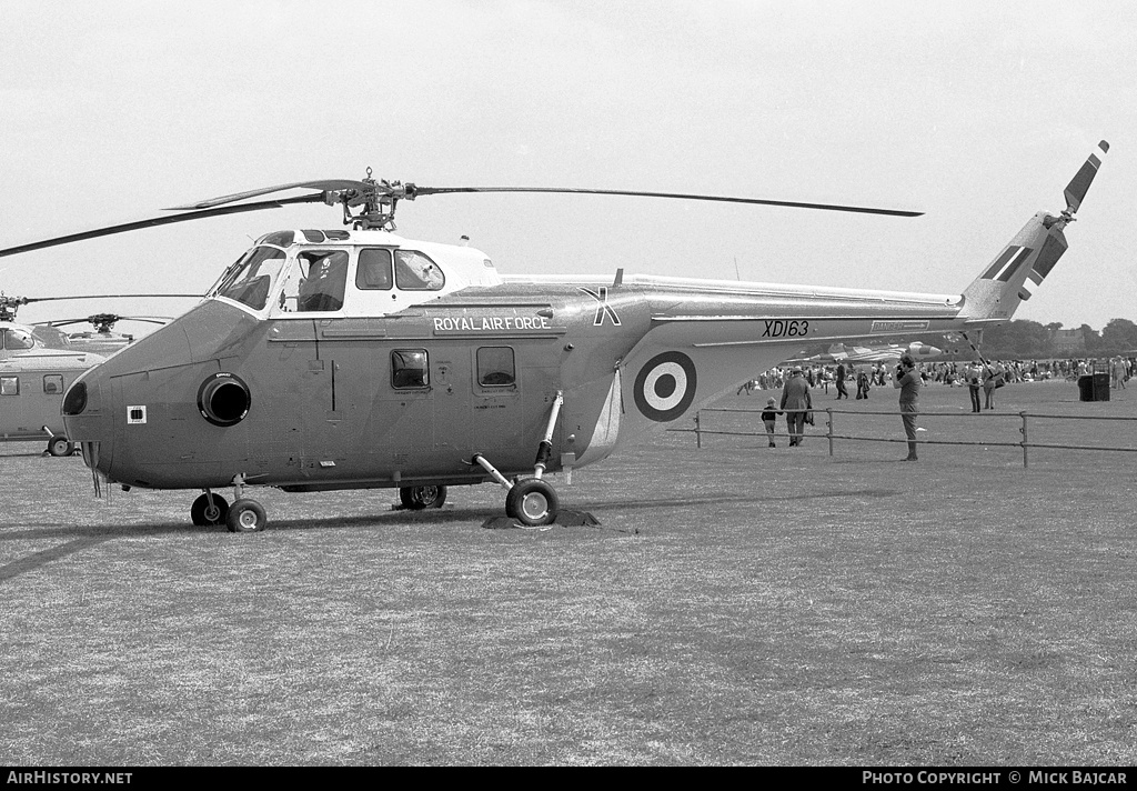 Aircraft Photo of XD163 | Westland WS-55-3 Whirlwind HAR10 | UK - Air Force | AirHistory.net #229225