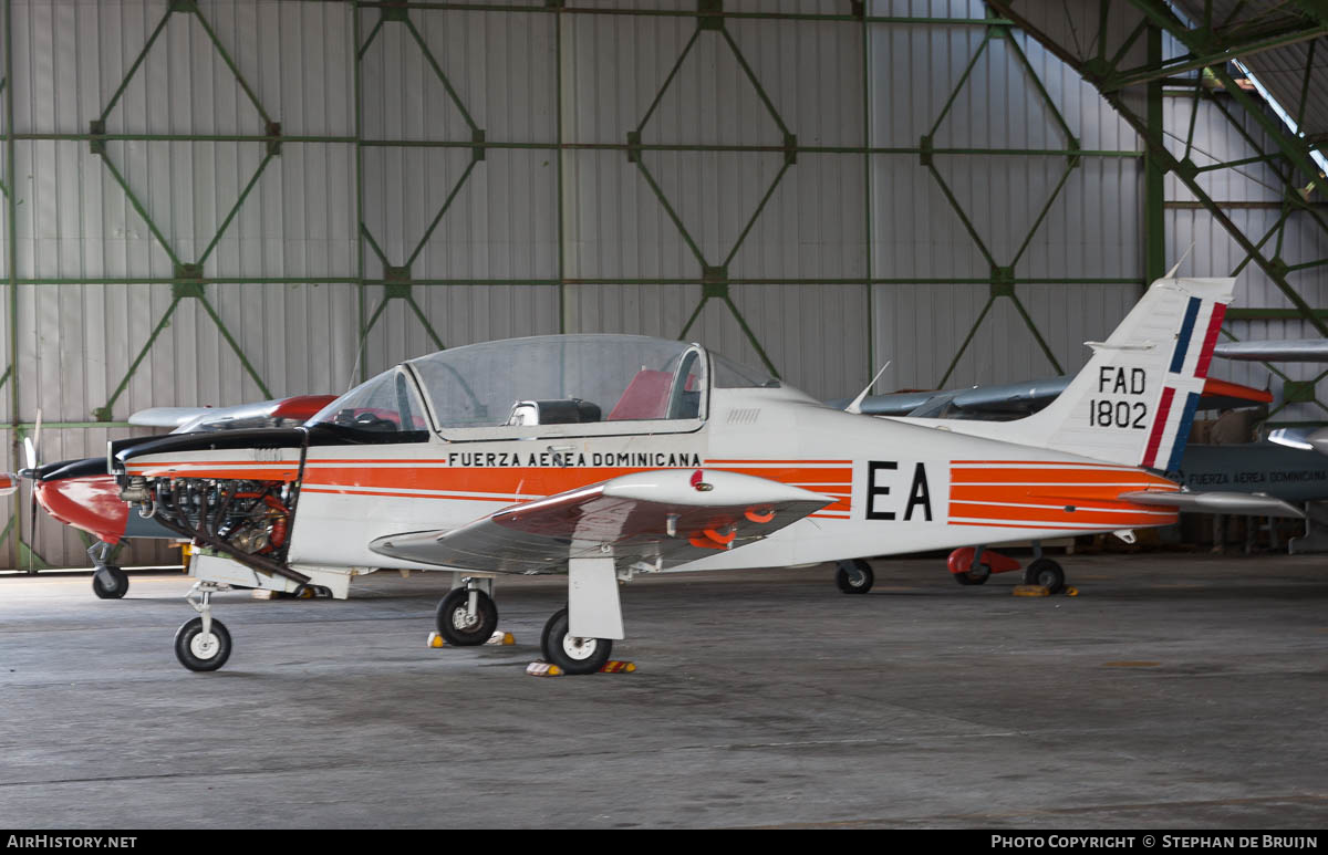Aircraft Photo of 1802 / FAD 1802 | Enaer T-35B Pillan (ECH-51) | Dominican Republic - Air Force | AirHistory.net #229907