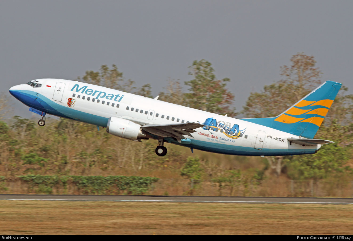 Aircraft Photo of PK-MDK | Boeing 737-3B7 | Merpati Nusantara Airlines | AirHistory.net #230168