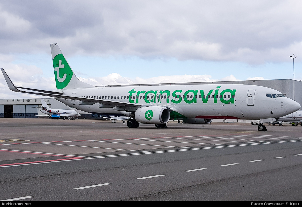 Aircraft Photo of PH-HZJ | Boeing 737-8K2 | Transavia | AirHistory.net #230233