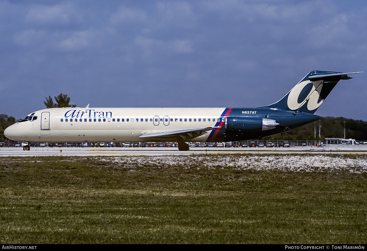 Aircraft Photo of N827AT | McDonnell Douglas DC-9-32 | AirTran | AirHistory.net #230522