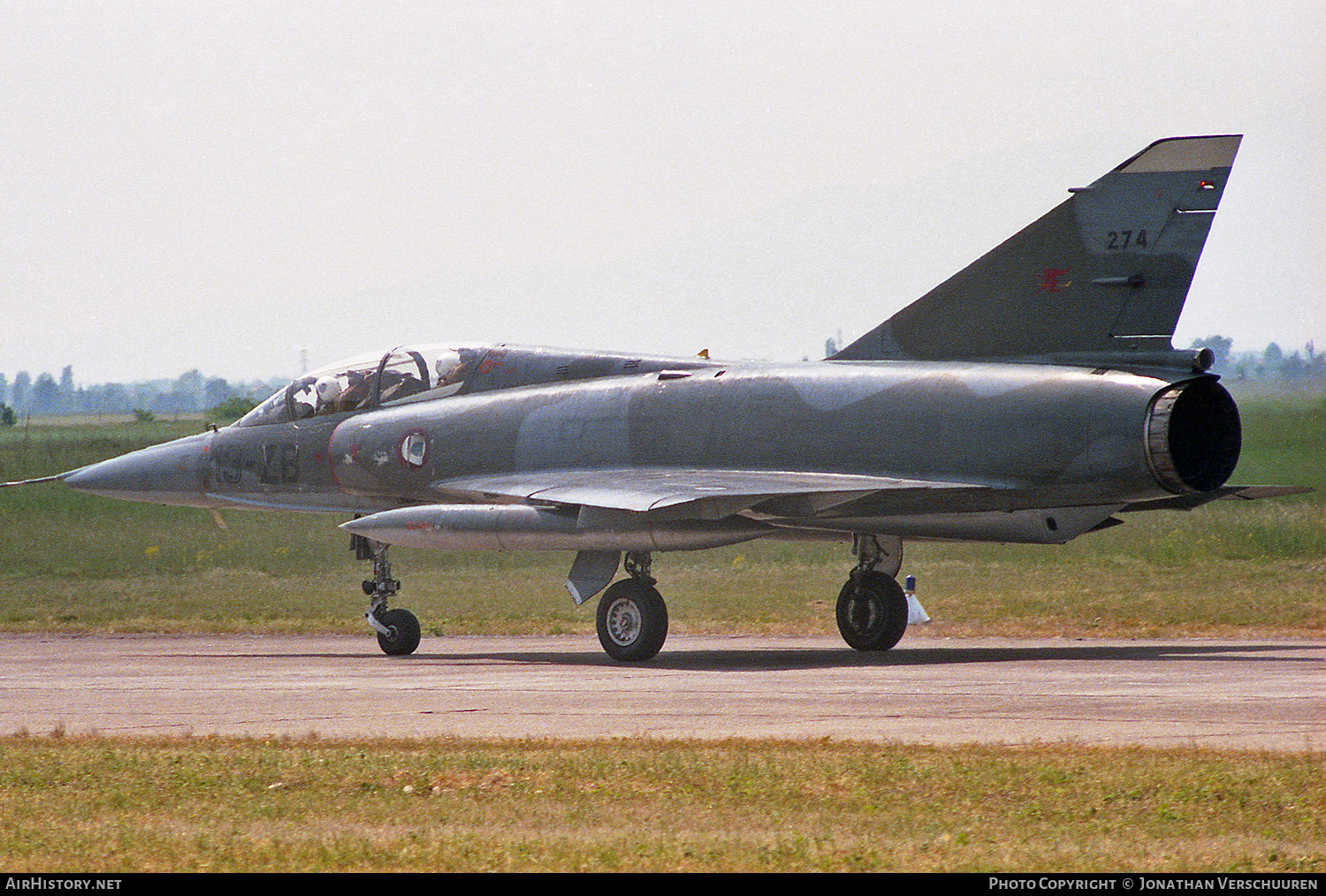 Aircraft Photo of 274 | Dassault Mirage IIIBE | France - Air Force | AirHistory.net #230717