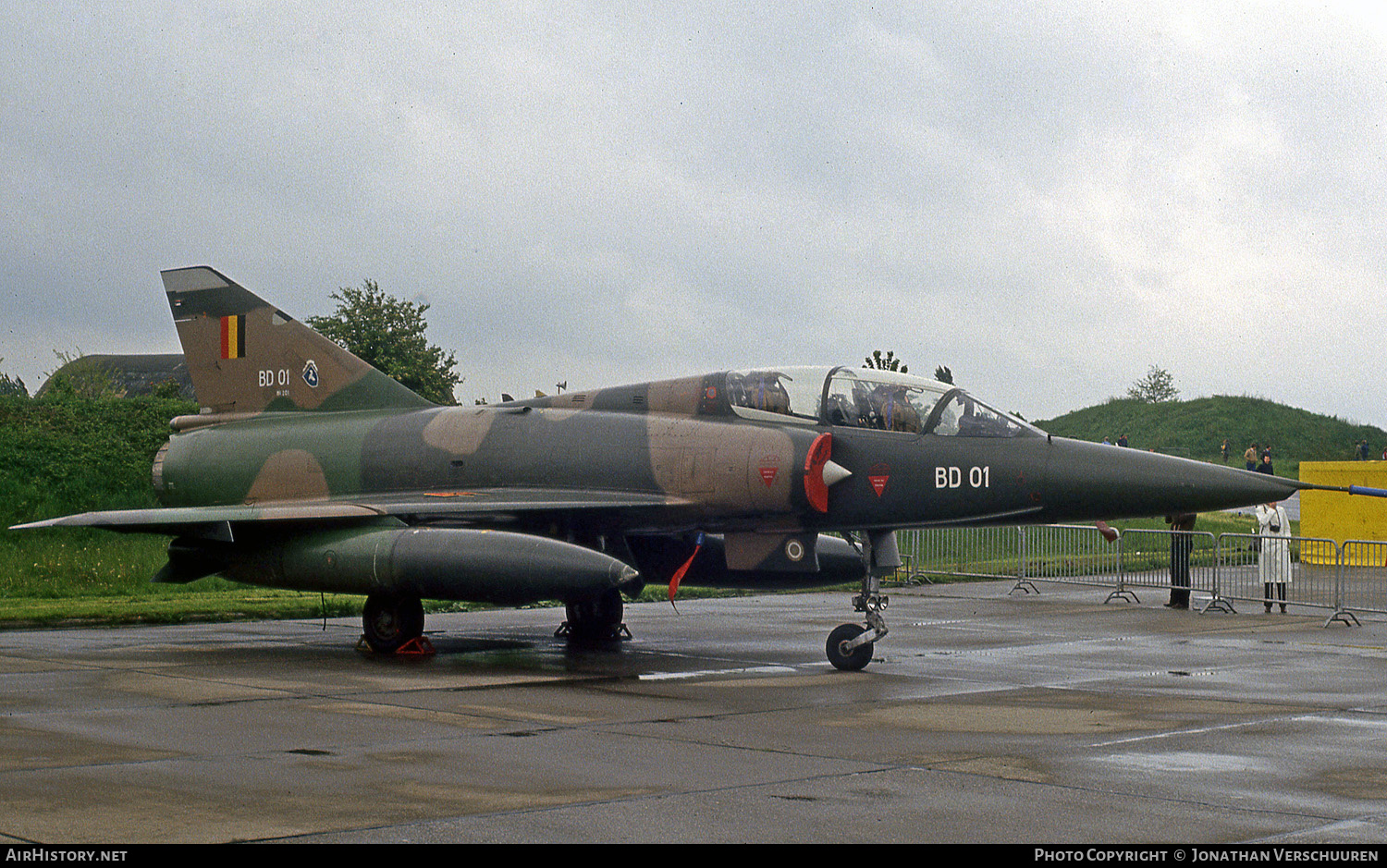 Aircraft Photo of BD01 | Dassault Mirage 5BD | Belgium - Air Force | AirHistory.net #231655