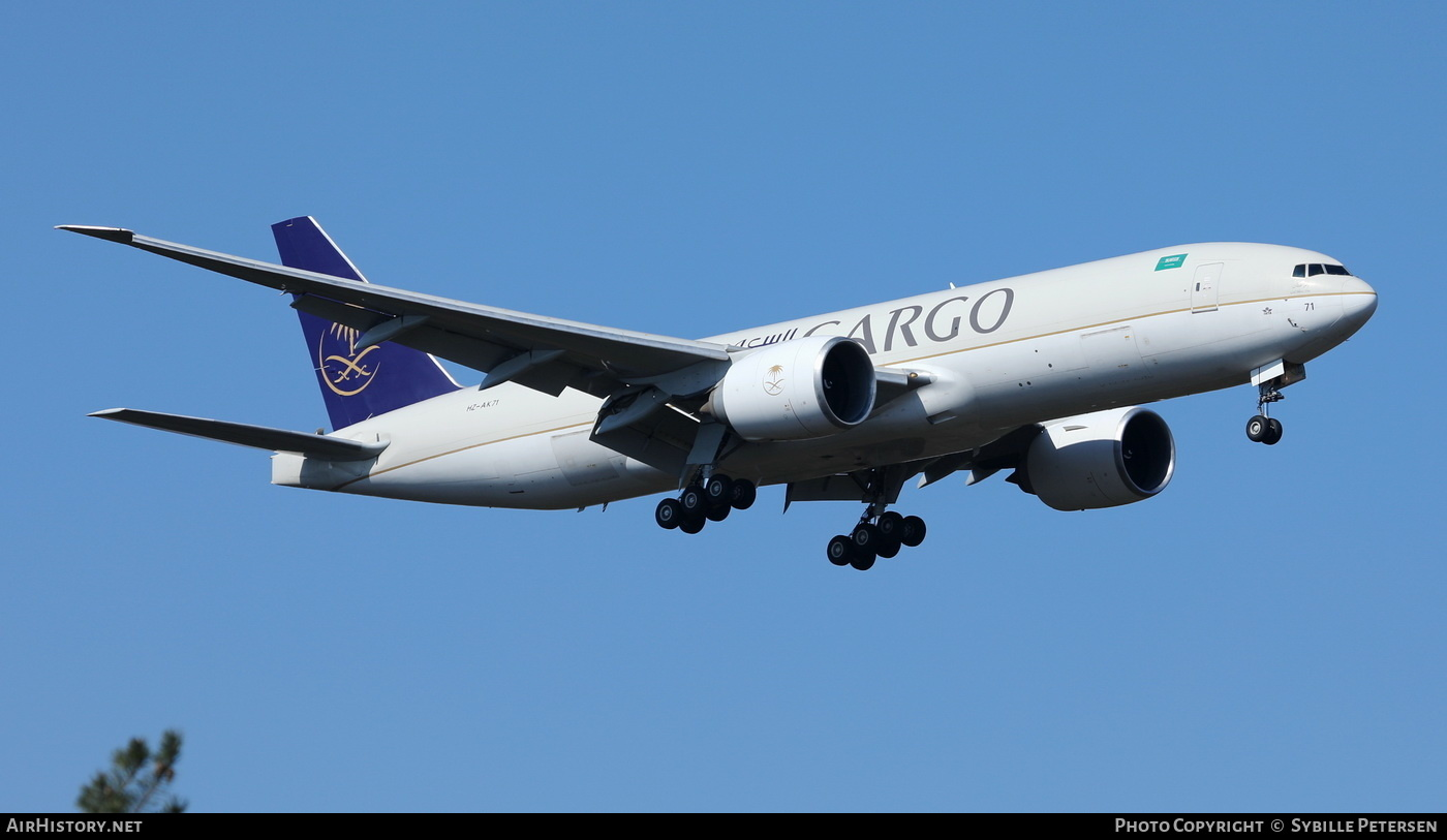 Aircraft Photo of HZ-AK71 | Boeing 777-FFG | Saudi Arabian Airlines Cargo | AirHistory.net #231856