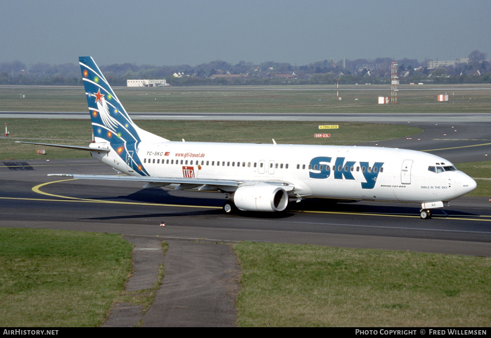 Aircraft Photo of TC-SKC | Boeing 737-85F | Sky Airlines | AirHistory.net #232363
