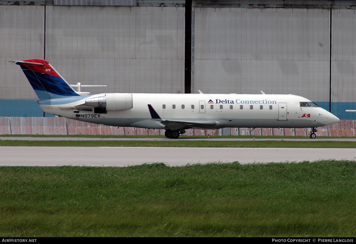 Aircraft Photo of N979EV | Bombardier CRJ-200ER (CL-600-2B19) | Delta Connection | AirHistory.net #232468