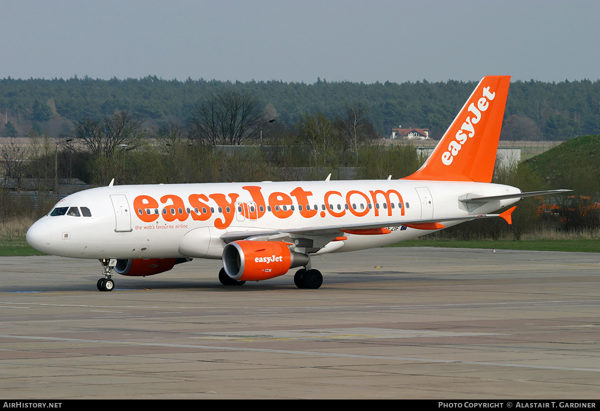 Aircraft Photo of G-EZIF | Airbus A319-111 | EasyJet | AirHistory.net #232817