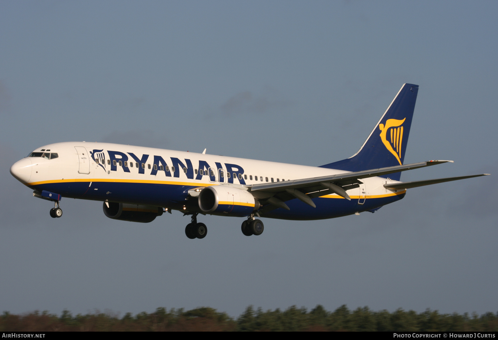 Aircraft Photo of EI-DCI | Boeing 737-8AS | Ryanair | AirHistory.net #233945