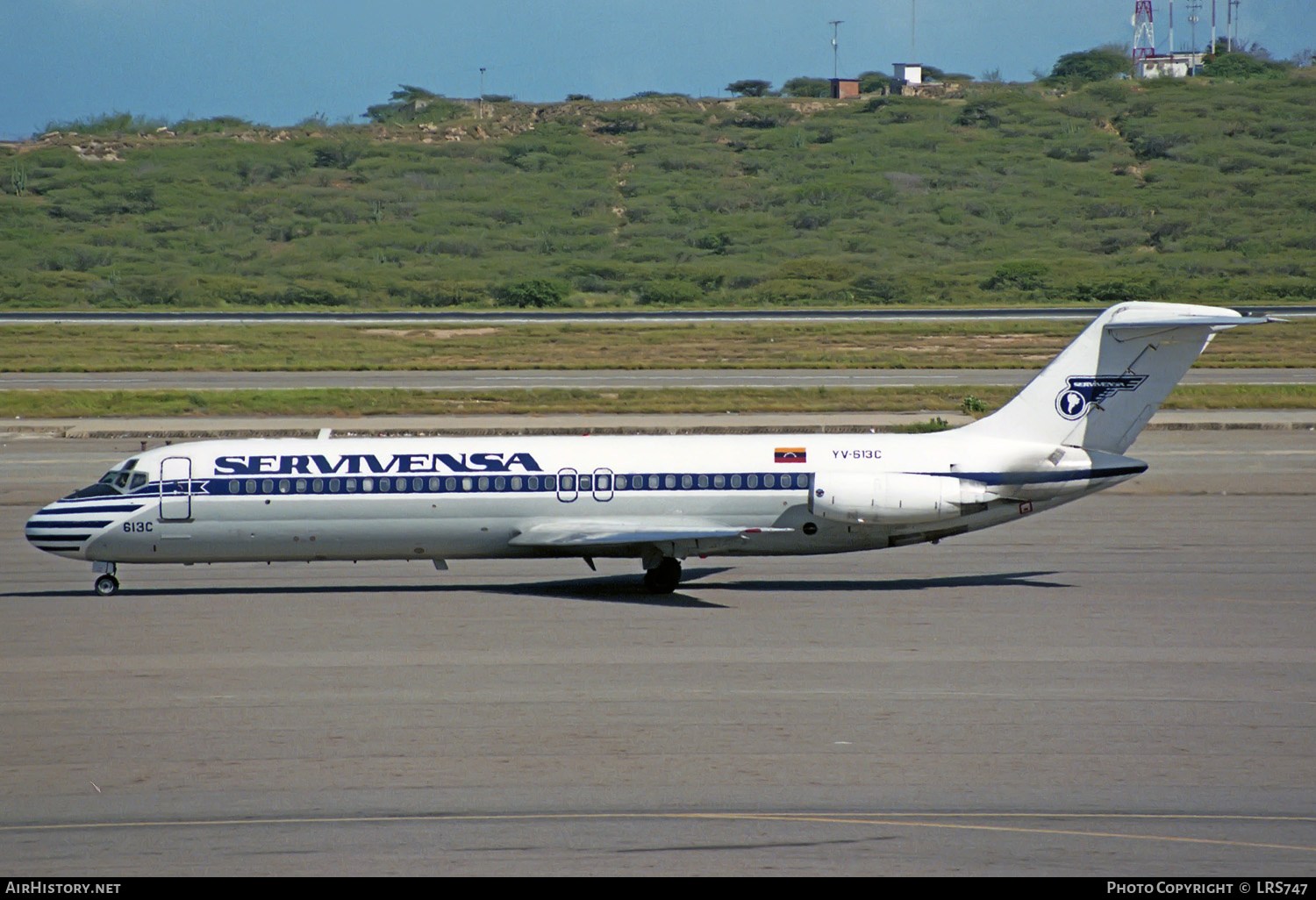 Aircraft Photo of YV-613C | McDonnell Douglas DC-9-32 | Servivensa | AirHistory.net #234597