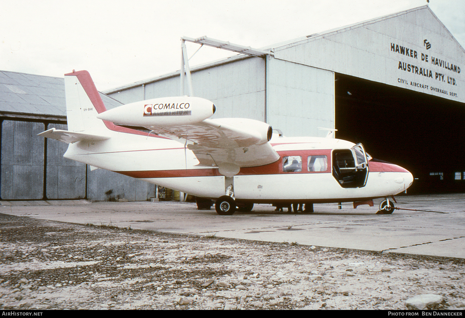 Aircraft Photo of VH-BHK | Piaggio P-166 | Comalco | AirHistory.net #234635